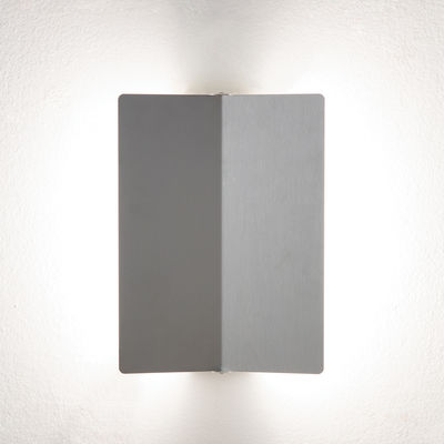 Lighting - Wall Lights - Wall light - with a folded LED swivelling panel / Charlotte Perriand, 1962 by Nemo - Aluminium - Anodized aluminium, Painted metal