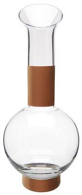 Carafe Tank Ø 14,5 x H 35,5 cm Tom Dixon cuivre,transparent en verre