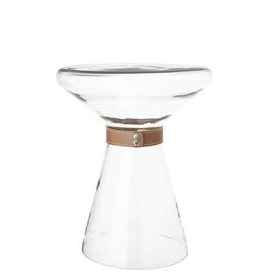 Furniture - Coffee Tables - Vetro End table - / Vase - Ø 35 cm by Bloomingville - Transparent / Ø 35 cm - Glass