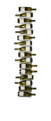 Tischkultur - Bar, Wein und Apéritif - Ptolomeo Vino Flaschenhalter / Wandregal - H 150 cm - Opinion Ciatti - Weiß - lackiertes Metall