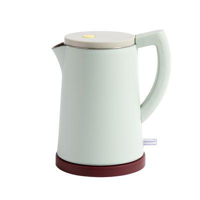 Kitchenware - Kitchen Appliances - Sowden Kettle - / Steel - 1.5 L by Hay - Mint - Polypropylene, Stainless steel