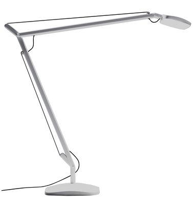 Lampe de table Volée LED - Fontana Arte gris clair en métal