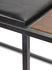 Panchina Andrea - / L 140 cm - Cuoio & legno di Serax