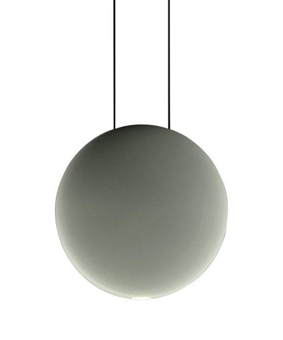 Leuchten - Pendelleuchten - Cosmos Pendelleuchte LED / Ø 19 cm - Vibia - Grün - Polykarbonat