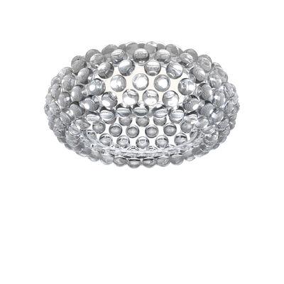 Luminaire - Plafonniers - Plafonnier Caboche Plus / LED - Ø 50 cm - Foscarini - Transparent / NON dimmable - PMMA
