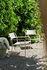 Poltrona bassa Patio Lames - / Listelli - Inox di Tolix