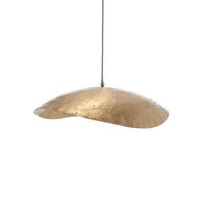 Image of Sospensione Brass 95 - / L 80 cm di Gervasoni - Oro/Metallo - Metallo
