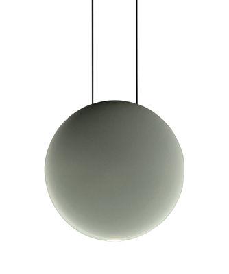 Illuminazione - Lampadari - Sospensione Cosmos - LED / Ø 19 cm di Vibia - Verde - policarbonato