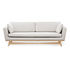 Straight sofa - / L 210 cm - Fabric by RED Edition
