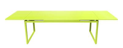 Table à rallonge Biarritz / L 200 à 300 cm - Fermob verveine en métal