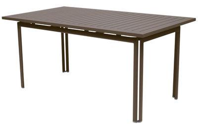 Table Costa / 160 x 80 cm - Fermob rouille en métal