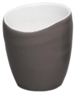 Tasse à café Bazelaire - Sentou Edition gris foncé en céramique