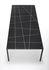 Tavolo rettangolare Tense Material - / 90 x 220 cm - Marmo di MDF Italia