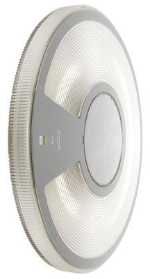Applique d'extérieur Lightdisc / Plafonnier - Ø 32 cm - Luceplan blanc,gris en matière plastique