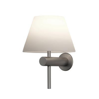 Applique Roma / Verre - Astro Lighting blanc opalin,nickel mat en verre