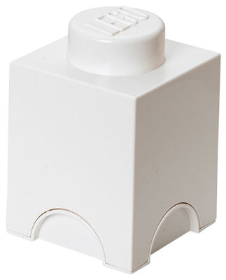 Decoration - Children's Home Accessories - Lego® Brick Box by ROOM COPENHAGEN - White - Polypropylene