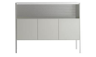 Buffet Heron / Haut - L 151 x H 116 cm - MDF Italia blanc en métal/bois