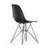 DSR - Eames Plastic Side Chair Chair - / (1950) - Black legs by Vitra