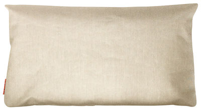 Coussin d'extérieur Large / 90 x 50 cm - Trimm Copenhagen beige chiné en tissu