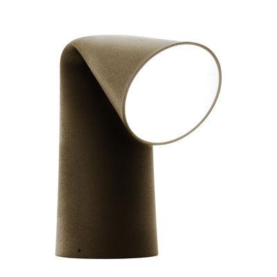 Lighting - Outdoor Lighting - Keirei Garden light - H 41 cm - Exclusivity by Torremato - Antique - Cast iron, Sandy glass