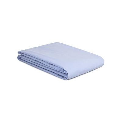 Housse de couette 140 x 200 cm / Percale lavée - Au Printemps Paris bleu en tissu