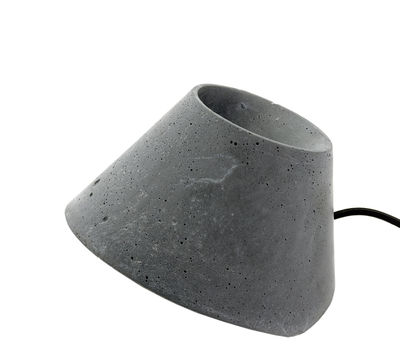 Lighting - Free standing lamps - Eaunophe Lamp - / Béton - Taille S by Serax - Gris - Concrete