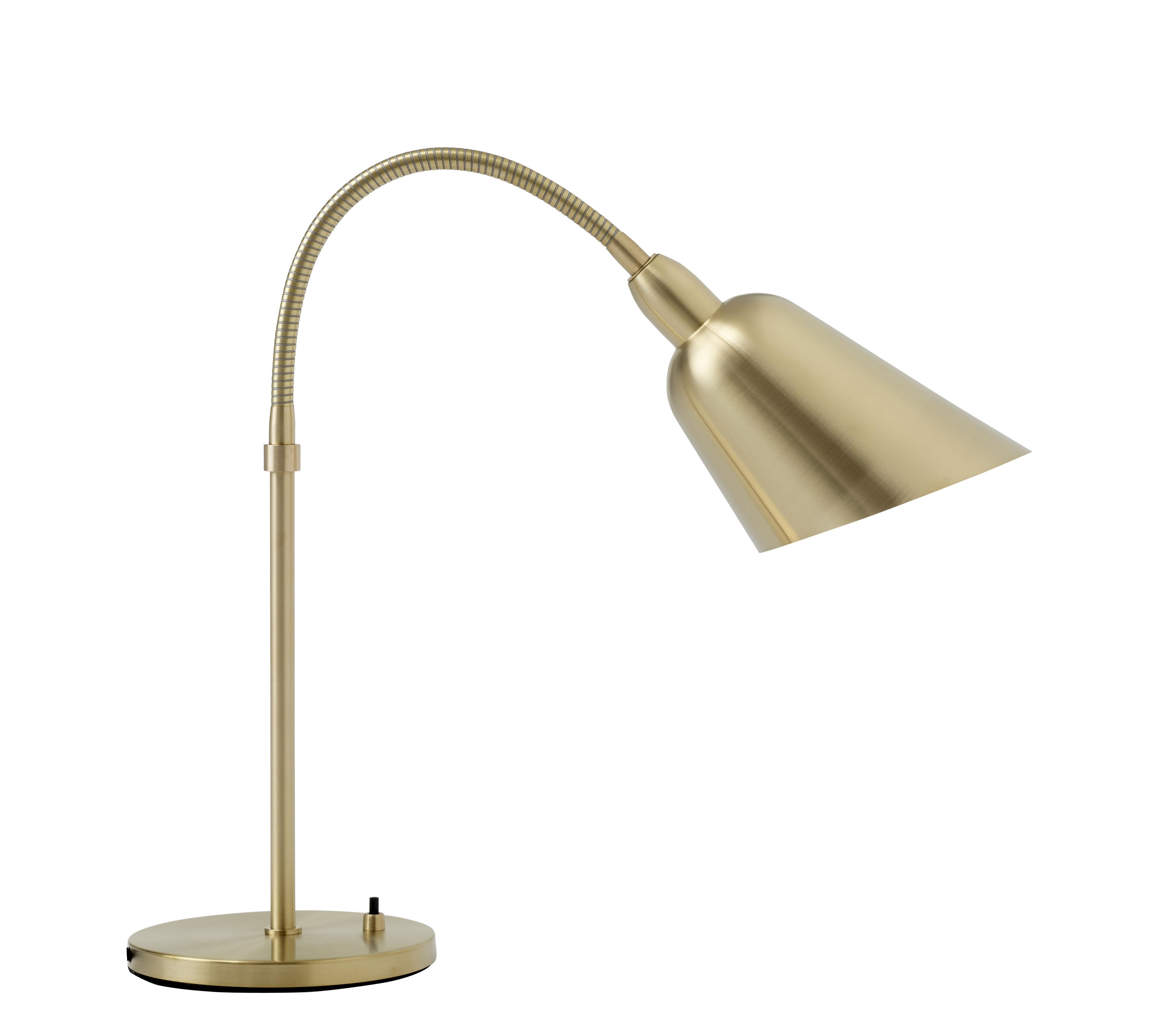 Illuminazione - Lampade da tavolo - Lampada da tavolo Bellevue - / by Arne Jacobsen - Riedizione 1929 di &tradition - Ottone - Ottone