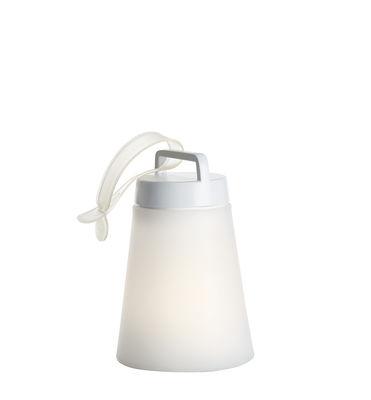 Sasha Mini Lampe ohne Kabel / LED - H 24,5 cm - Carpyen - Weiß