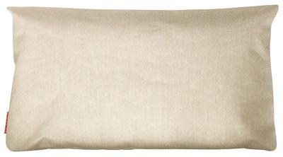 Möbel - Sitzkissen - Large Outdoor-Kissen / outdoorgeeignet - 80 x 45 cm - Trimm Copenhagen - Beige - Sunbrella-Gewebe