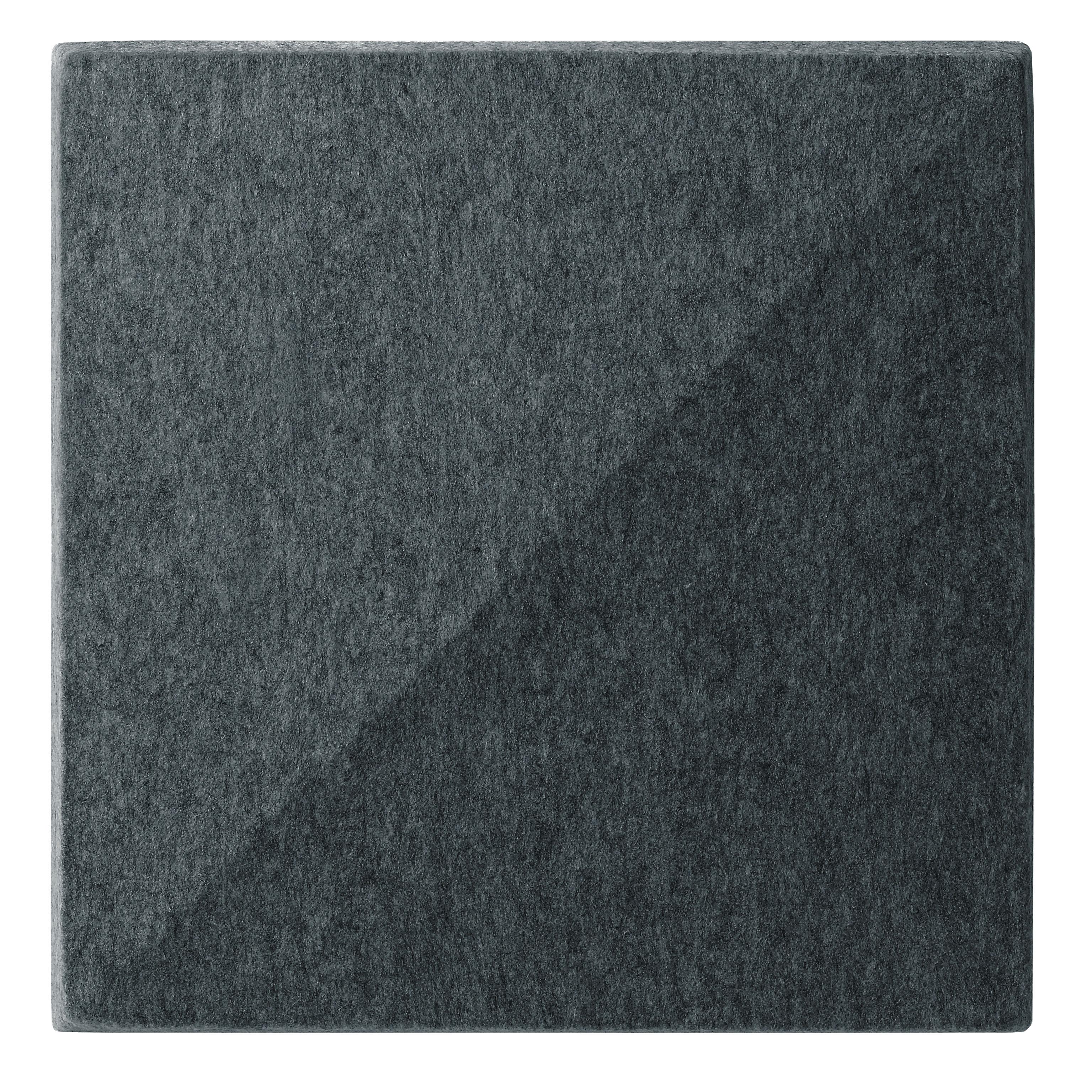 Mobilier - Paravents, séparations - Panneau acoustique mural Soundwave Bella - Offecct - Gris anthracite - Fibre de polyester, Laine