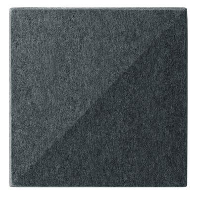Image of Pannello acustico a muro Soundwave Bella di Offecct - Grigio/Nero - Tessuto