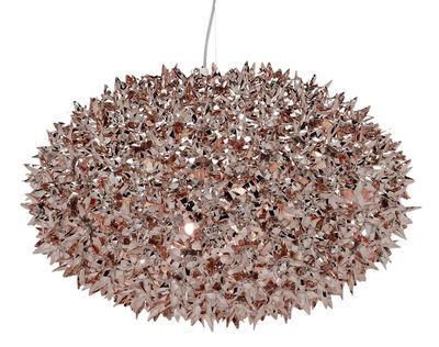 Bloom Bouquet Pendelleuchte / L Ø 53 cm - metallic - Kartell - Bronze