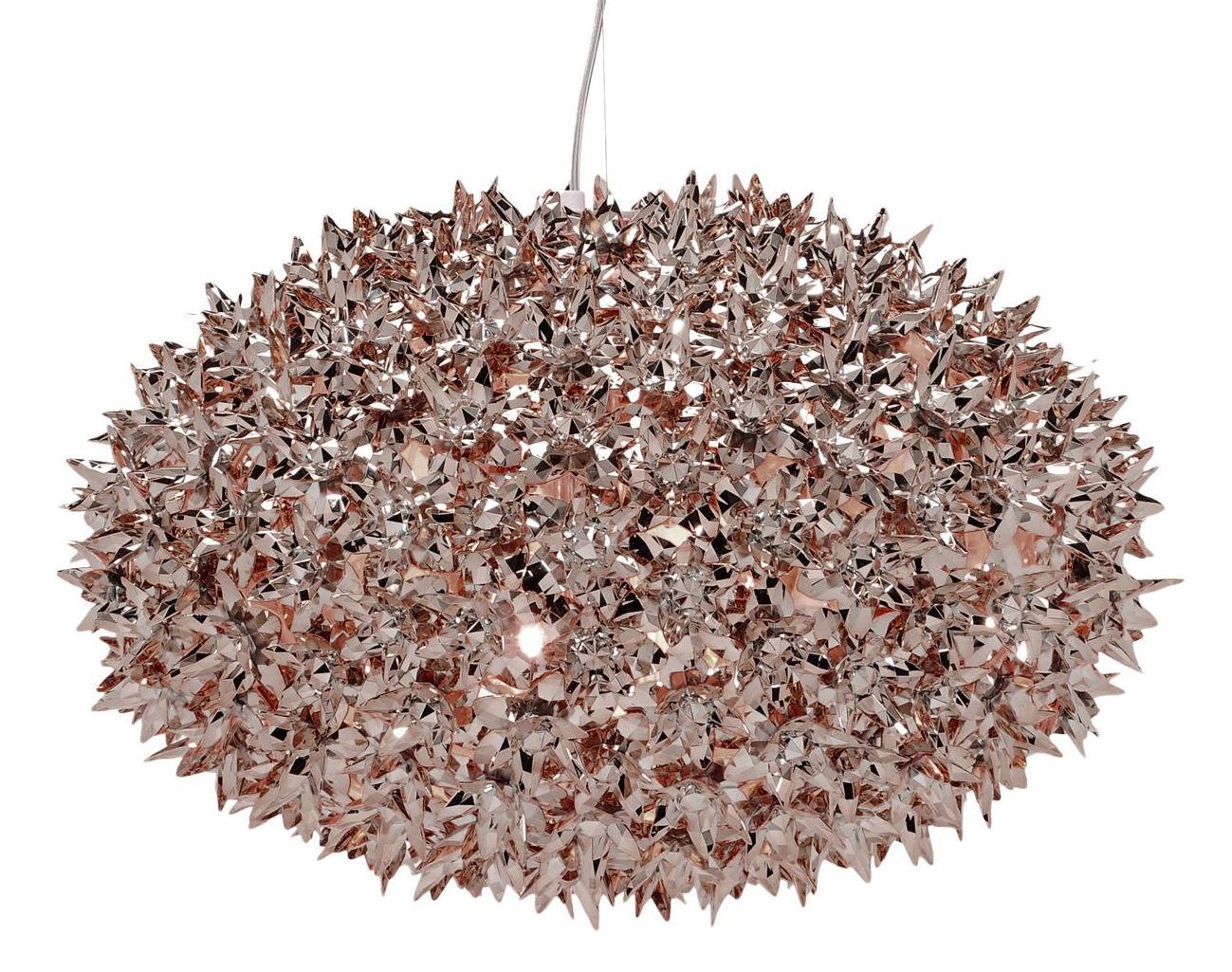 Leuchten - Pendelleuchten - Bloom Bouquet Pendelleuchte / L Ø 53 cm - metallic - Kartell - Bronzefarben - Technopolymère thermoplastique