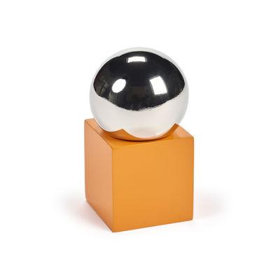 Egg Cups - Salt & Pepper Mills - MVS Pepper pot by valerie objects - Pepper / Orange - ABS, Stainless steel