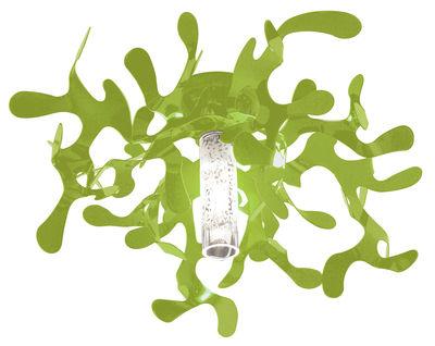 Plafonnier Mini Coral - Lumen Center Italia vert en métal