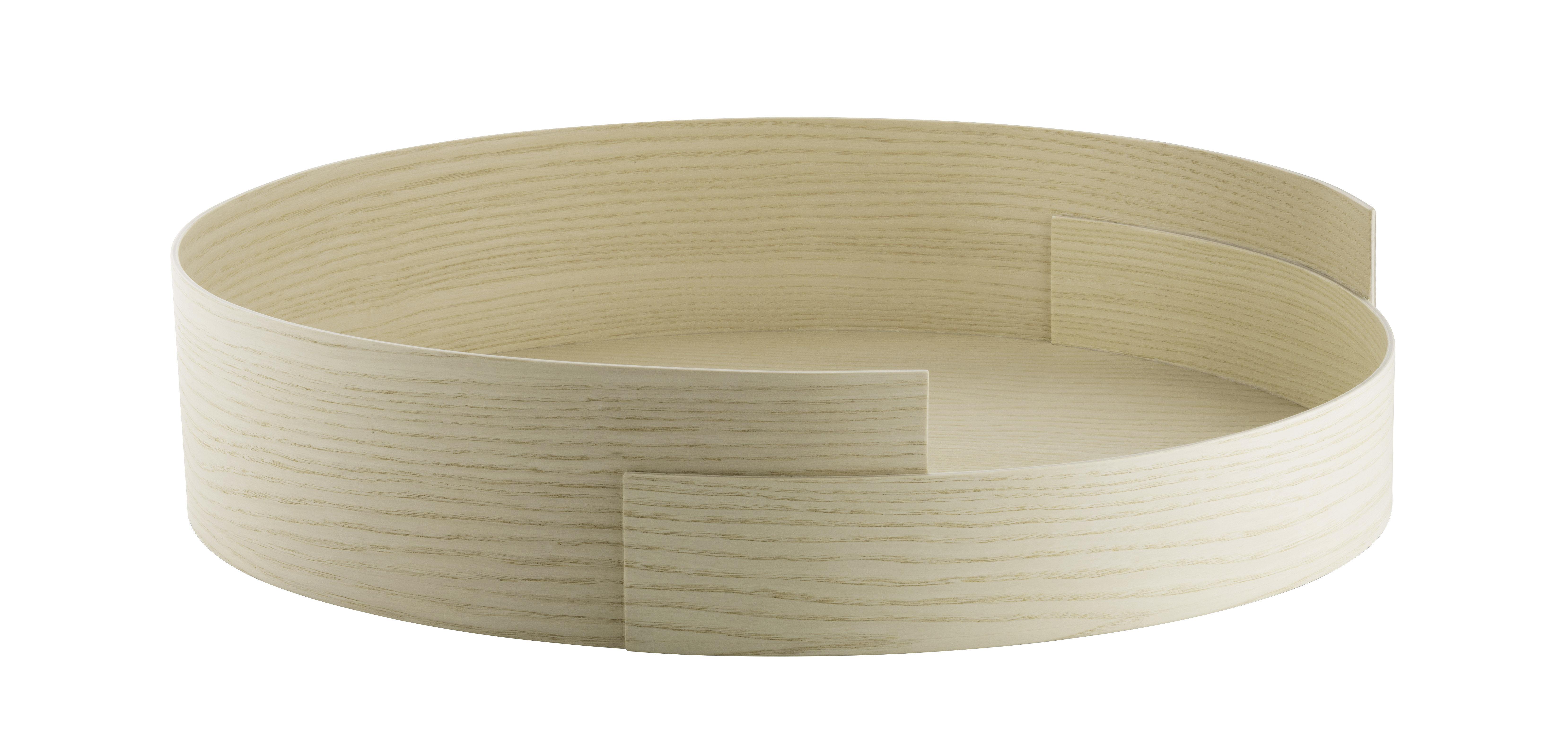 Arts de la table - Plateaux - Plateau #5 / Ø 42 x H 9 cm - Frêne - Fritz Hansen - Ø 42 / Frêne - Placage de frêne