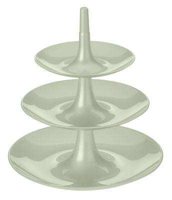 Serviteur Babell / Ø 31,4 x H 34 cm - Koziol vert eucalyptus en matière plastique