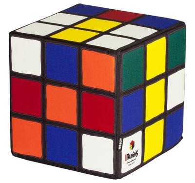 Möbel - Möbel für Kinder - Magic Cube Sitzkissen - Woouf! - Mehrfarbig - Gewebe, Schaumstoff
