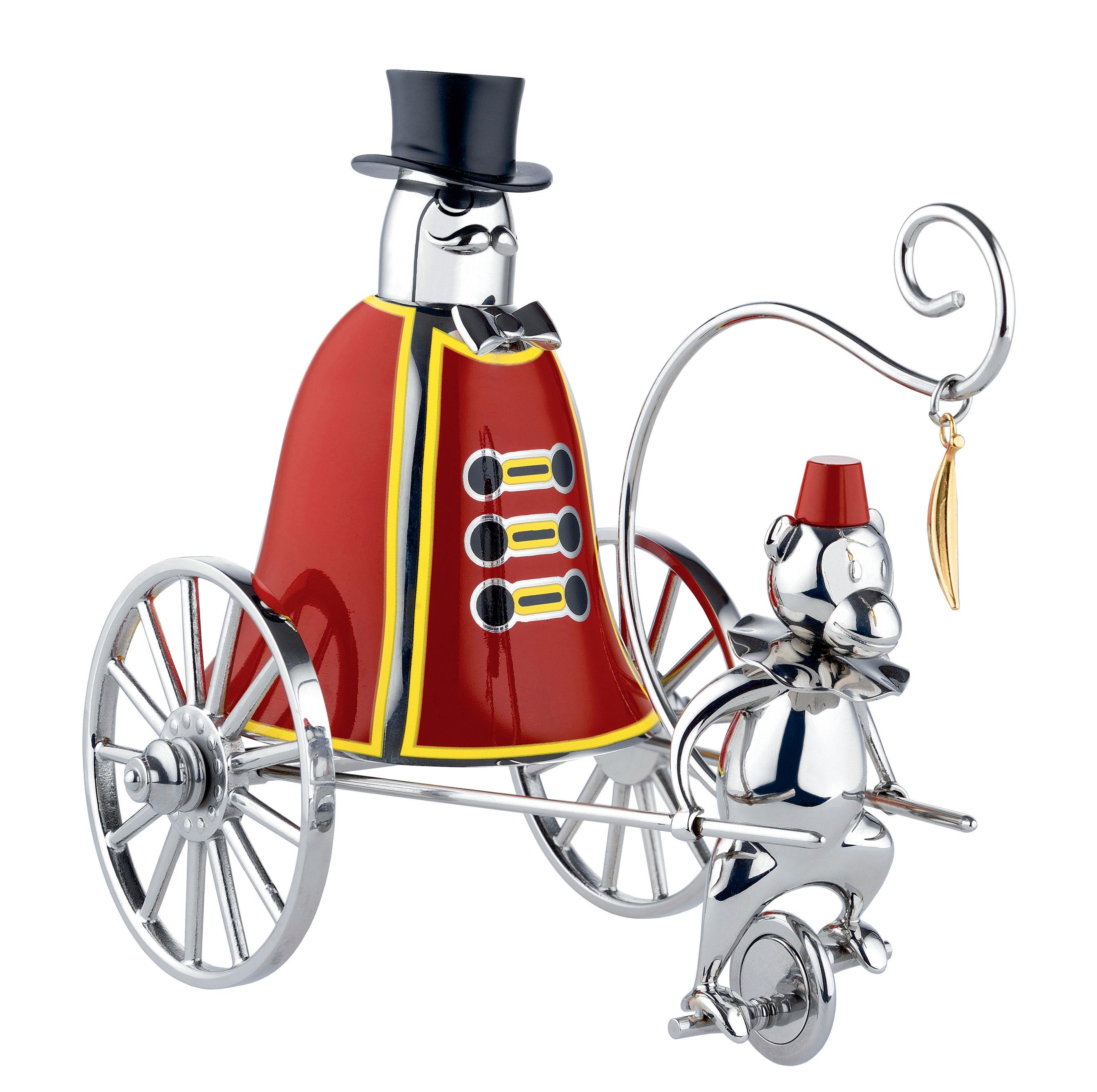 Arts de la table - Accessoires - Sonnette de table Ringleader / Circus - Edition limitée numérotée - Alessi - Multicolore - Acier inoxydable peint