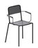 Ginger Stackable armchair - / Micaceous grey by Zeus