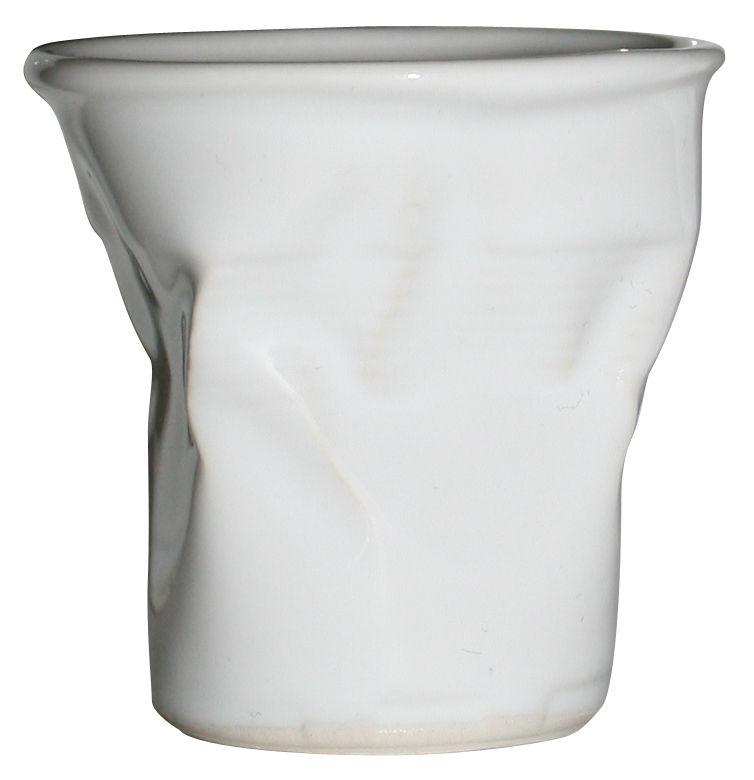 Arts de la table - Tasses et mugs - Tasse à espresso / H 6 cm - Rob Brandt - Pop Corn - Blanc - Céramique