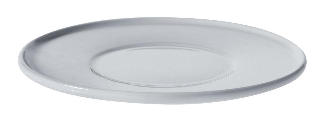 Tischkultur - Tassen und Becher - Untertasse für die Kaffeetasse PlateBowlCup - A di Alessi - Unterteller: Weiß - Porzellan