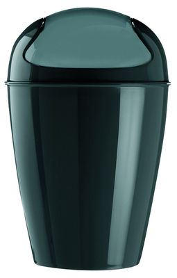 Decoration - For bathroom - Del XS Bin - H 24 cm - 2 liters by Koziol - Black - Polypropylene