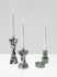 Swirl Stepped Candle stick - / Set of 2, stackable by Tom Dixon