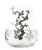 Centrotavola Frutteti Papillons - / Cristallo & acciaio - Ø 21 cm di Opinion Ciatti