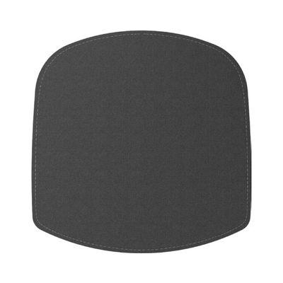 Coussin d'assise / Pour fauteuil Wick - Feutre - Design House Stockholm gris en tissu