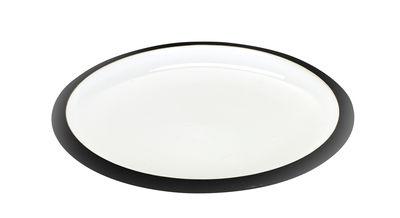 Tableware - Plates - Daily Beginnings Dessert plate - Ø 20 cm by Serax - White - Black - Sandstone
