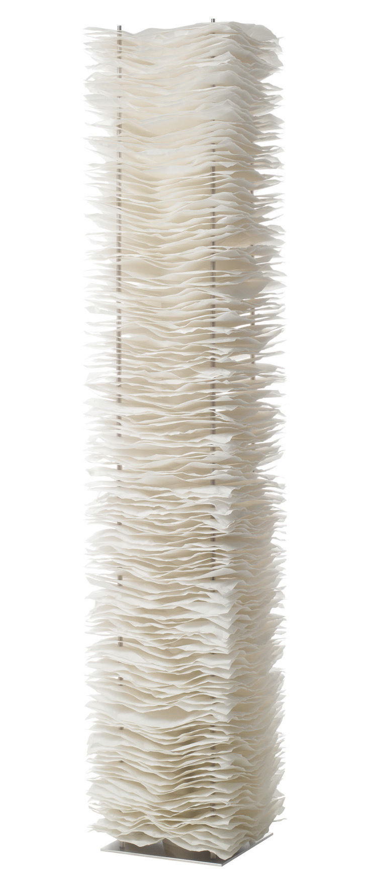 Lighting - Floor lamps - One by One Floor lamp by Belux - White - Polyester