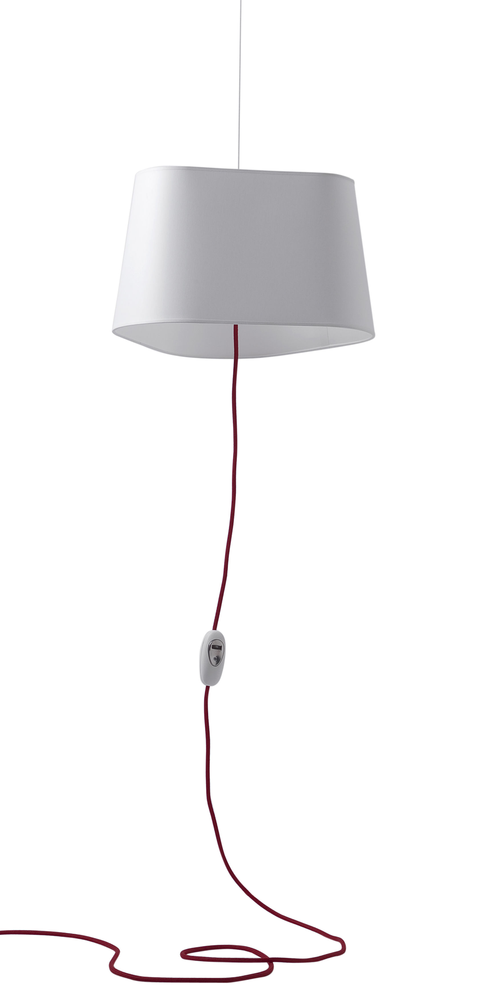 Lighting - Pendant Lighting - Grand Nuage Pendant by Designheure - White - Cotton