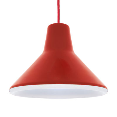 Archetype Pendelleuchte LED - Luceplan - Rot